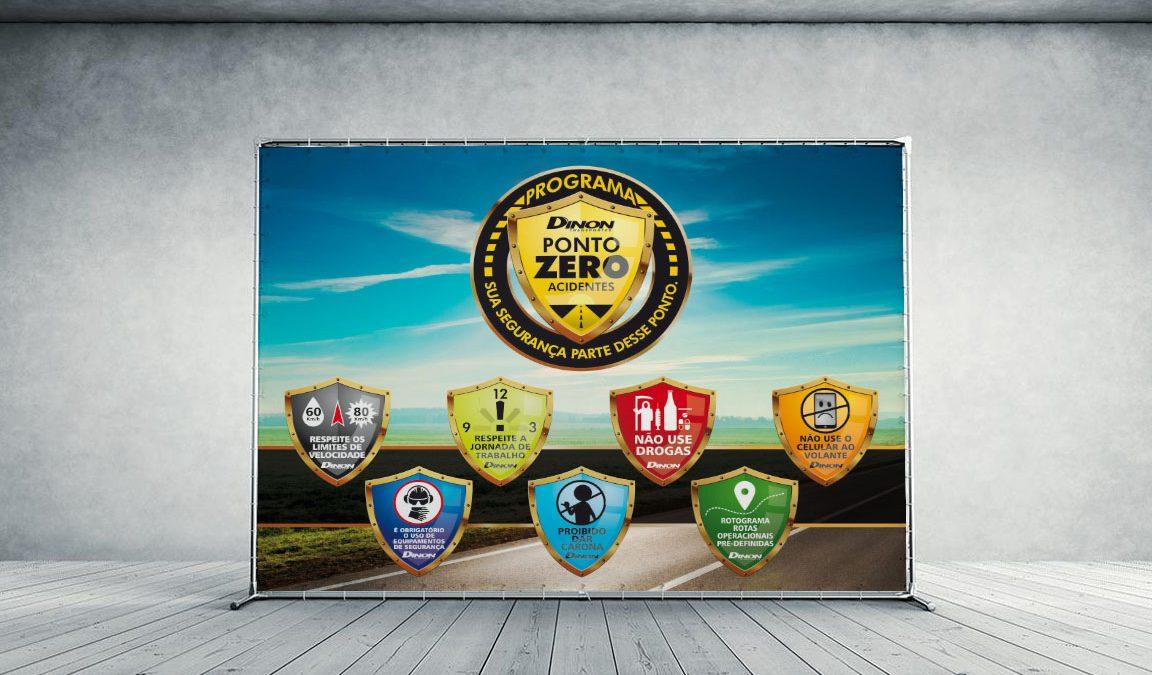 Criação design logotipo selo campanha endomarketing