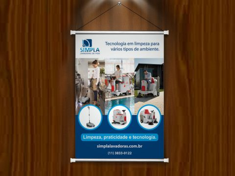 Criação design plotagem banner PDV