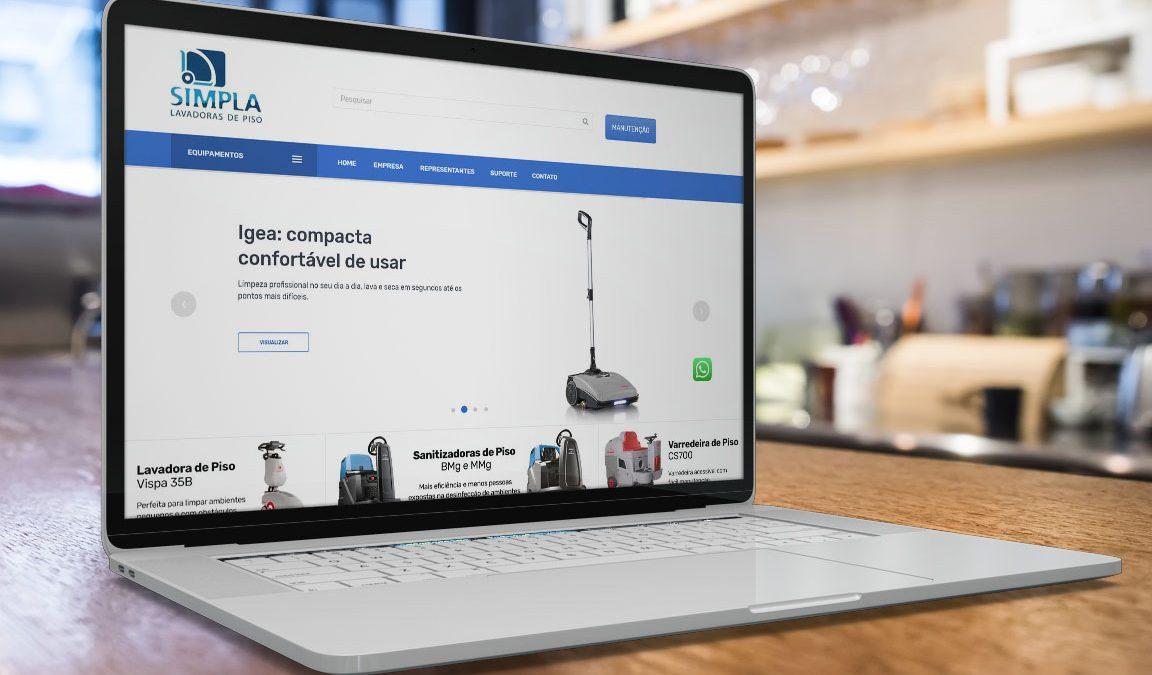 Site home page design e desenvolvimento de sites