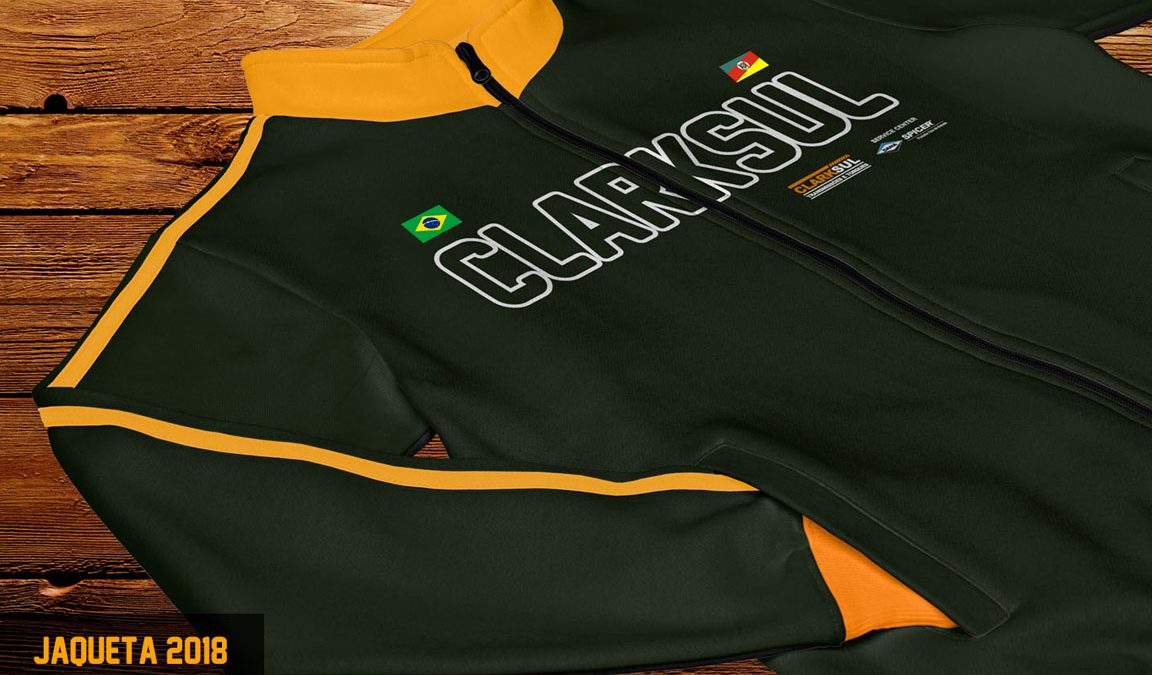 Criação design uniforme jaqueta moleton