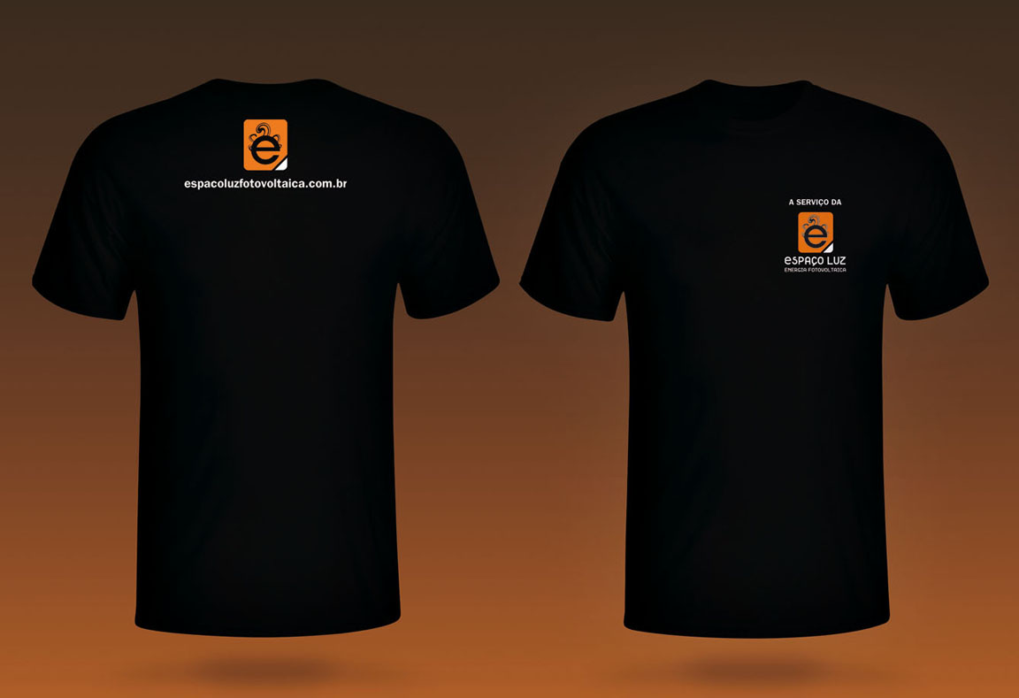 Criação design uniforme camiseta