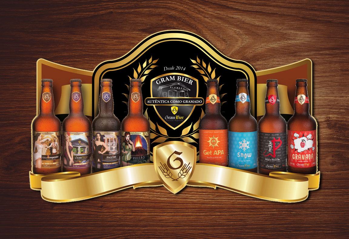 PDV Display Criação e Design de Cartaz Rótulo e Foto e Fotografia de Garrafa de Cerveja