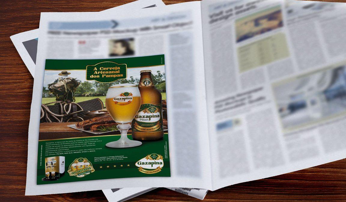 Criação e Design para Anúncio e Press Release em Jornal