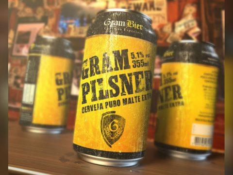Criação e Design para Rótulo Lata de Cerveja