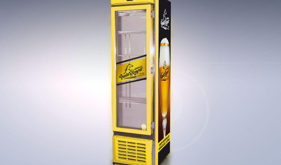 Ponto de venda, visa cooler, chopp artesanal, design, fotografia, plotagem, customização
