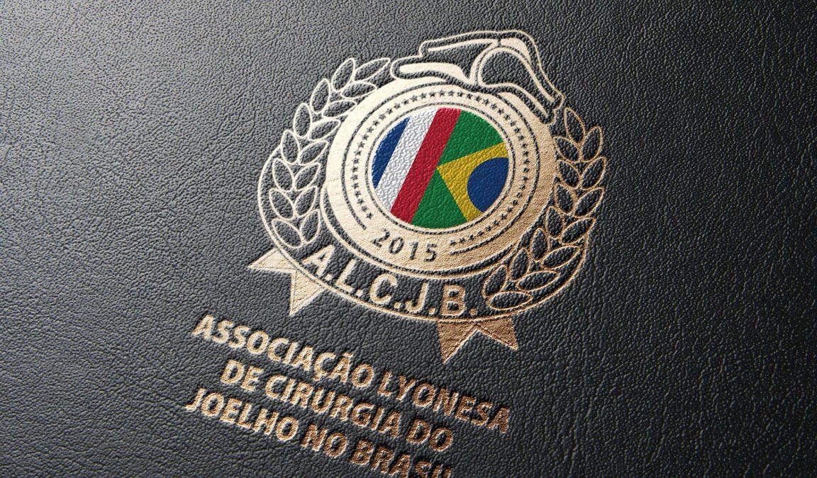 Logotipo Associação Lyonesa de Cirurgia do Joelho no Brasil