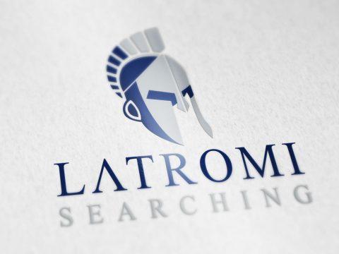 Logotipo, design, criação de logomarca, Latromi, tecnologia da informação