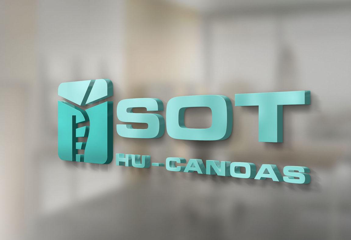 Logotipo, criação de logotipo e identidade visual, SOT HU Canoas, SOT ULBRA