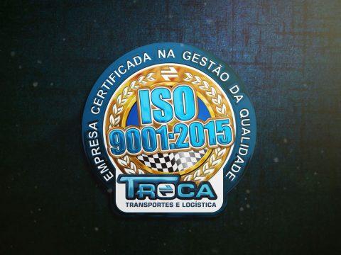 Selo ISO 9001:2015 para Grupo Troca Transportes