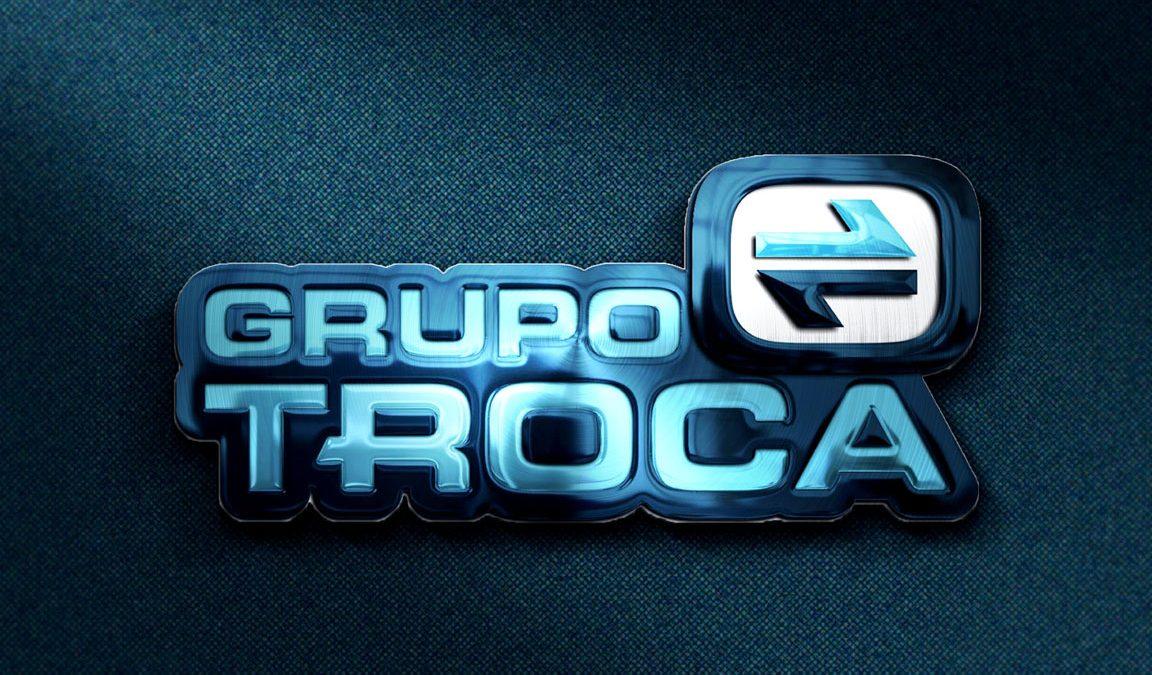 Logotipo, criação de logotipo e indentidade visual Grupo Troca Transportes