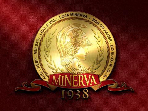 logotipo loja minerva