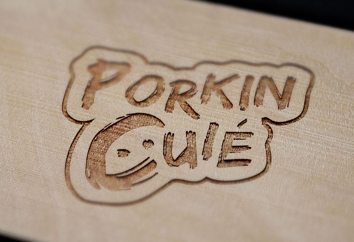 Logotipo Cerveja Artesanal Porkin Cuié