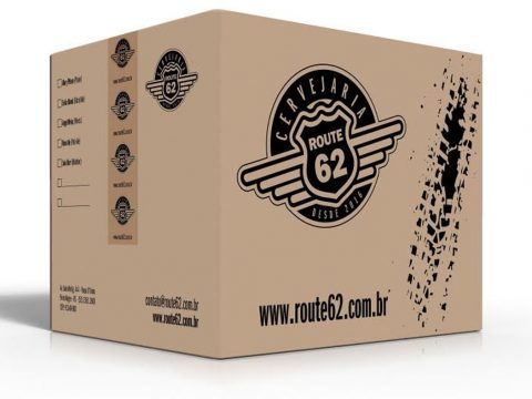 Embalagem, caixa de papelão para transporte de garrafas