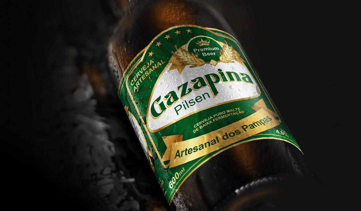 Rótulo Cerveja Artesanal Gazapina Foto Fotografia Criação e Design para Rótulo e Embalagem de Cerveja